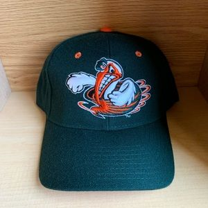 Miami Hurricanes Canes NCAA Football Fitted Hat